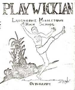 1928 Newtown game - Playwickian cover