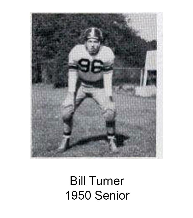 1950 Senior Bill Turner