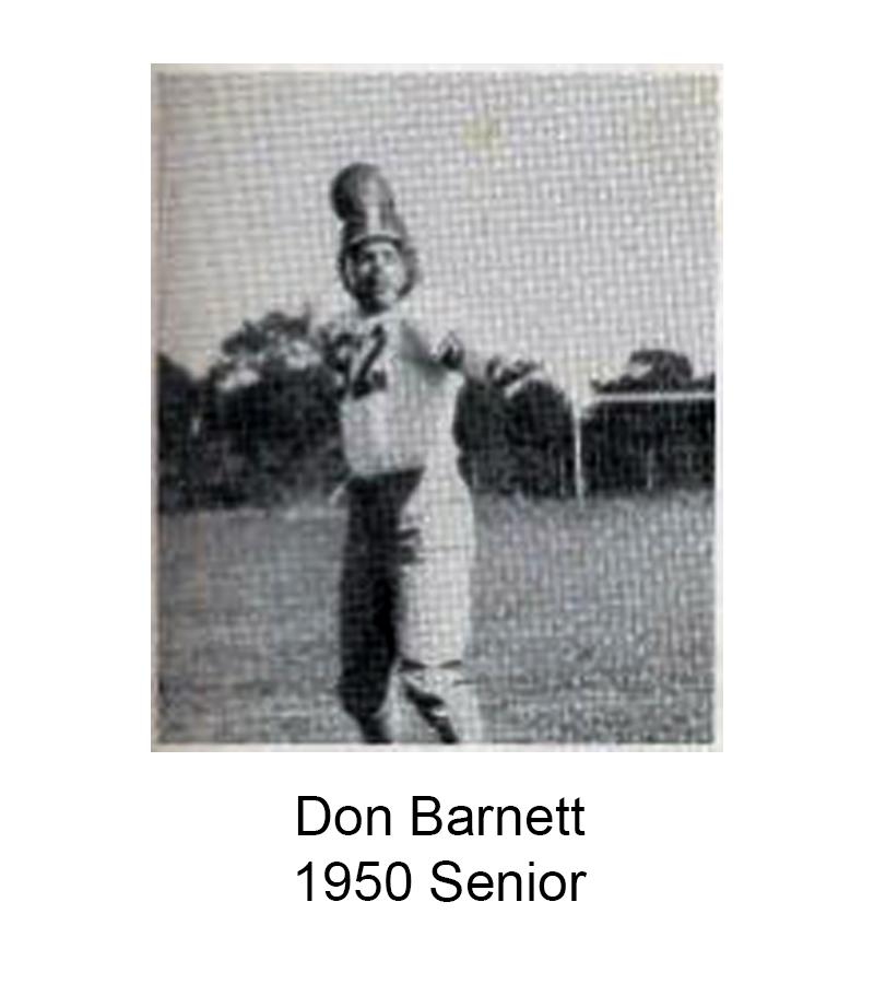1950 Senior Don Barnett