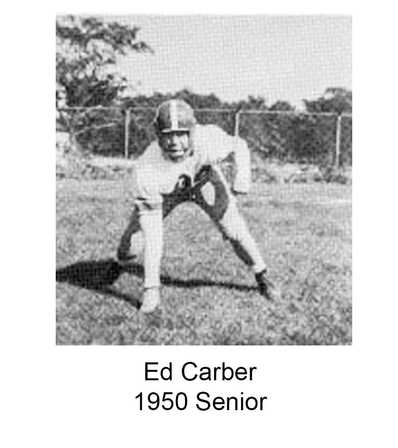 1950 Senior Ed Carber