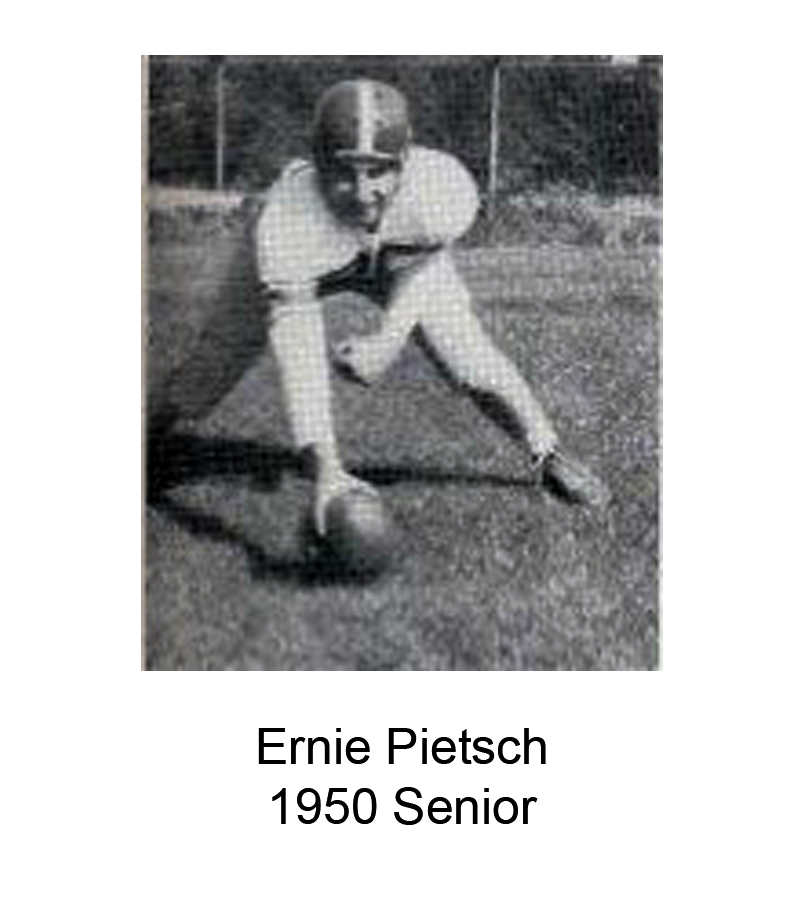 1950 Senior Ernie Pietsch