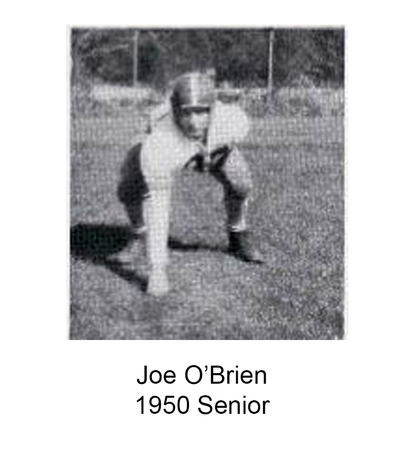 1950 Senior Joe OBrien