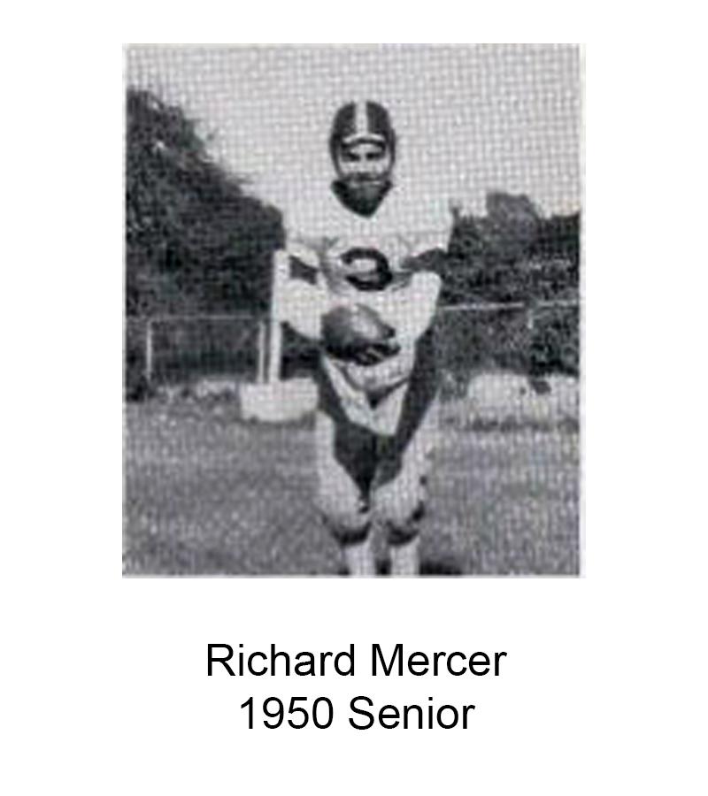 1950 Senior Richard Mercer