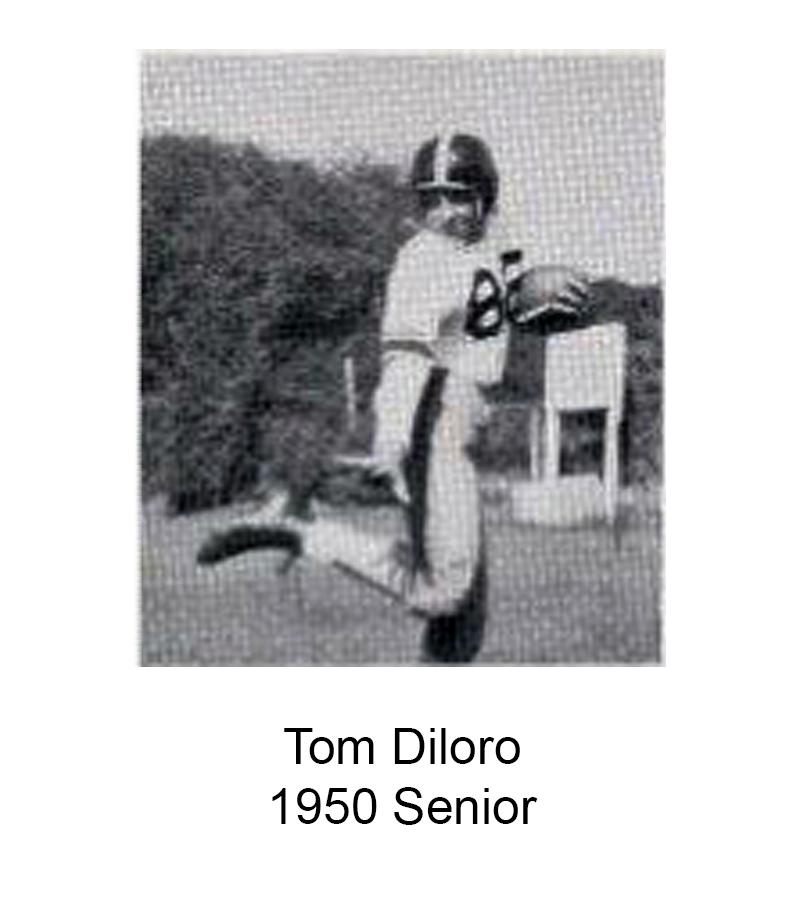 1950 Senior Tom Diloro