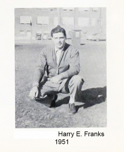 1951 Head Coach Harry E Franks