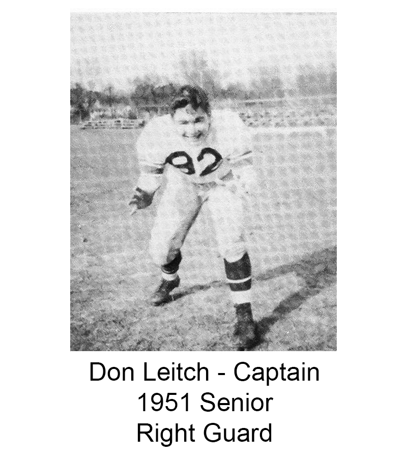1951 Senior Don Leitch