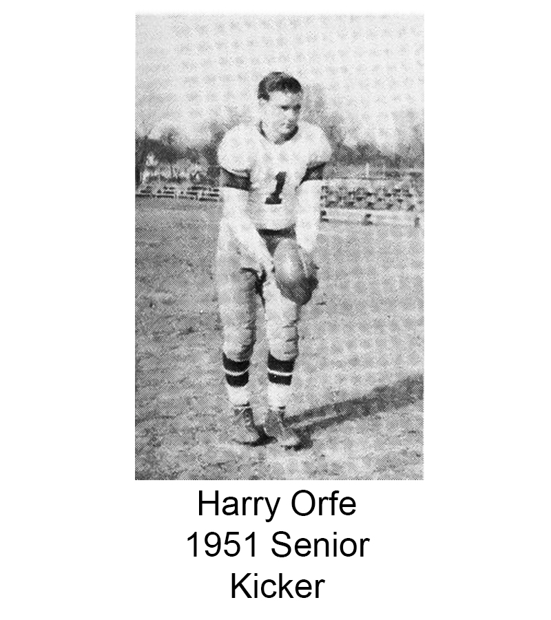 1951 Senior Harry Orfe