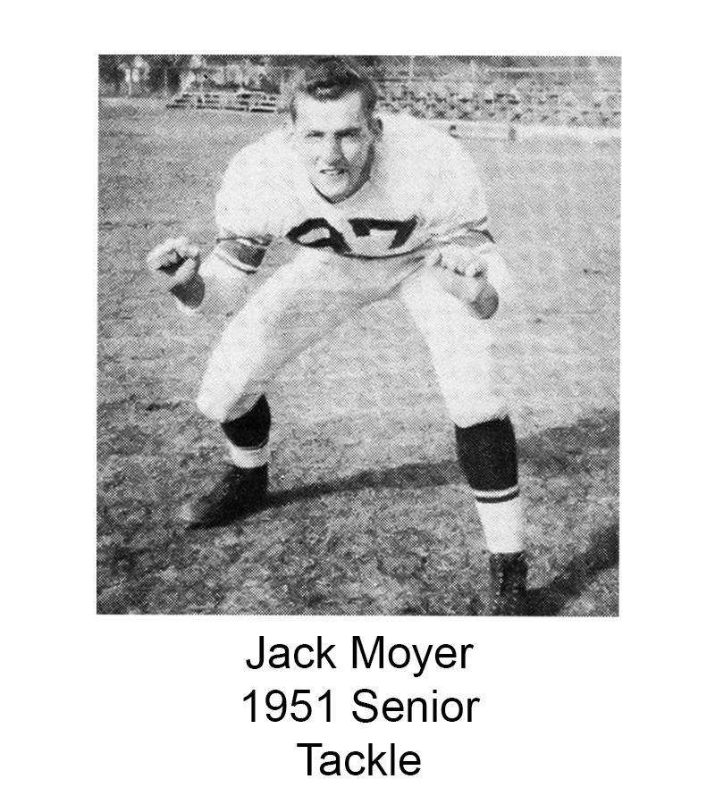 1951 Senior Jack Moyer