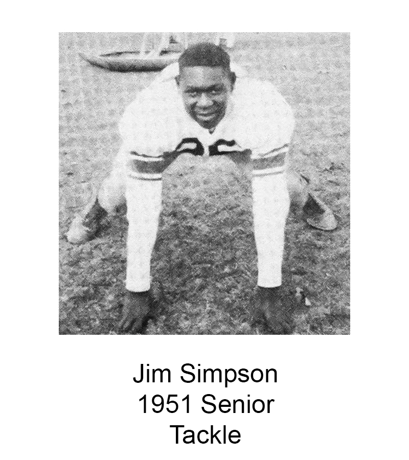 1951 Senior Jim Simpson