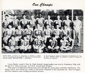 1951 Undefeated Jr High Team