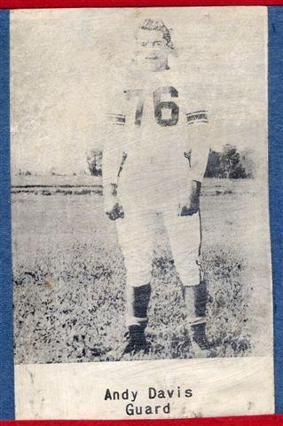 1954 Junior Andy Davis