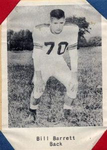 1954 Junior Bill Barrett