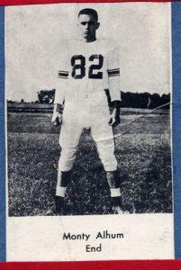 1954 Junior Monty Ahlum