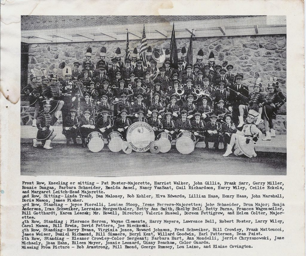 1954 Marching Band