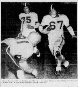 1954 Pennsbury Game Action 1