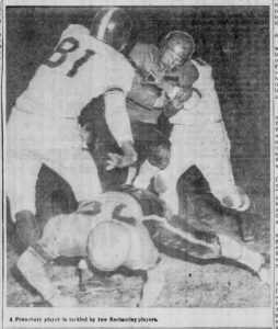 1954 Pennsbury Game Action 2
