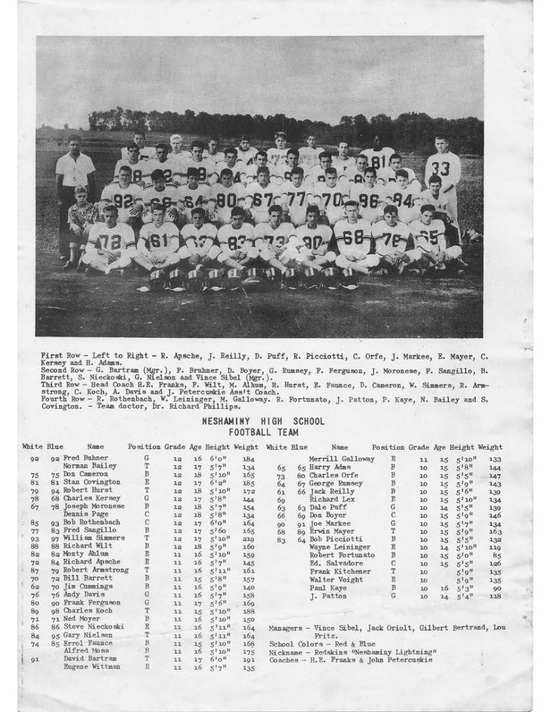 1954 Roster