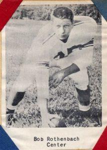 1954 Senior Bob Rothenbach