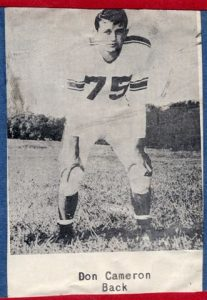 1954 Senior Don Cameron