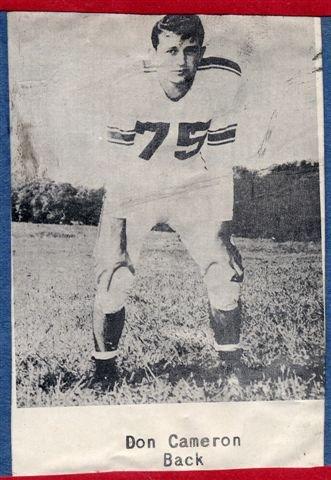 1954 Senior Don Cameron