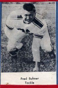 1954 Senior Fred Buhner