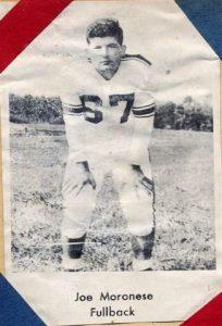 1954 Senior Joe Moronese