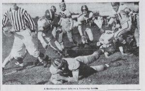 1954_11_6 Southampton Game Action 1