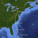 1954_Oct 15_Hurricane Hazel's path