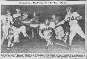 1955 Errol Faunce Muhlenberg Game