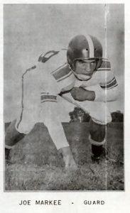 1955 Junior Joe Markee