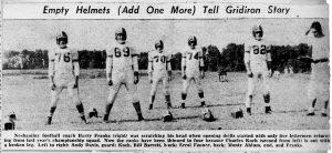 1955 Pre-Season Drills