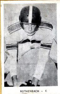 1955 Senior Bill Rothenbach