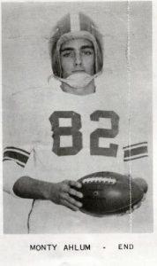 1955 Senior Monty Ahlum