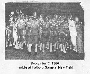 1956_09_07 Hatboro Gaem Huddle