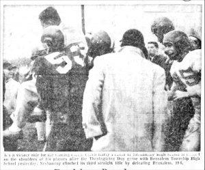 1956_11_23 Turkey Bowl 1