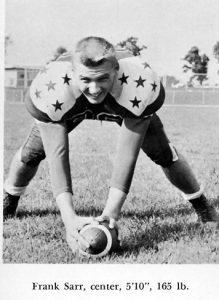 1957 Senior Frank Sarr