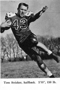 1957 Senior Tom Stricker