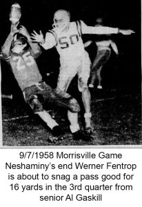 1958_9_7 Morrisville Game Werner Fentrop