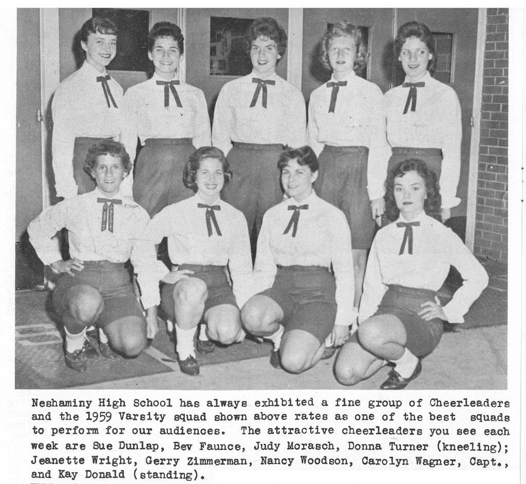 1959 Cheer Team
