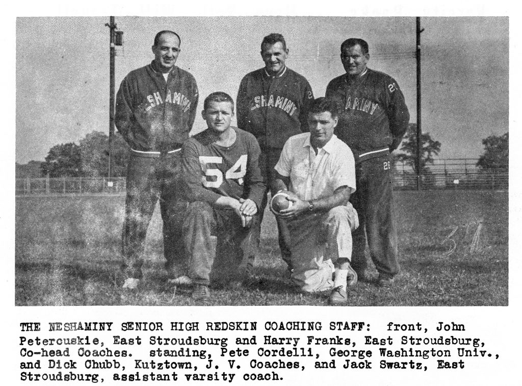 1959 Coaching Staff
