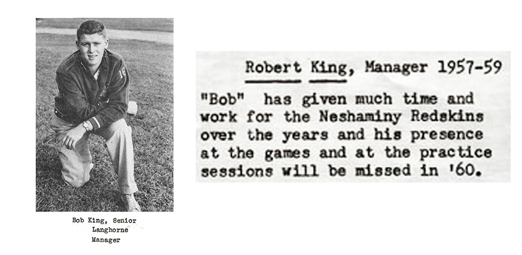 1959 Senior Bob King Mgr Senior Bio