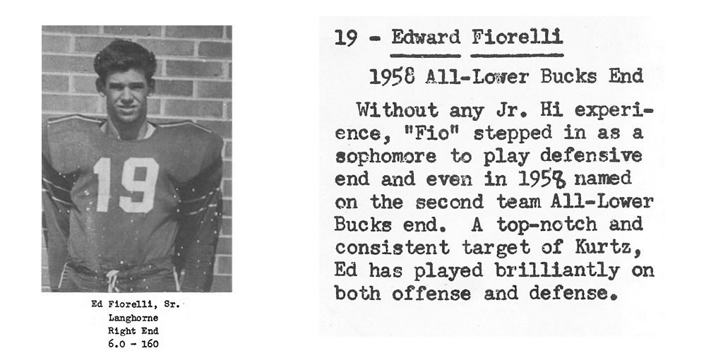 1959 Senior Ed Fiorelli Senior Bio