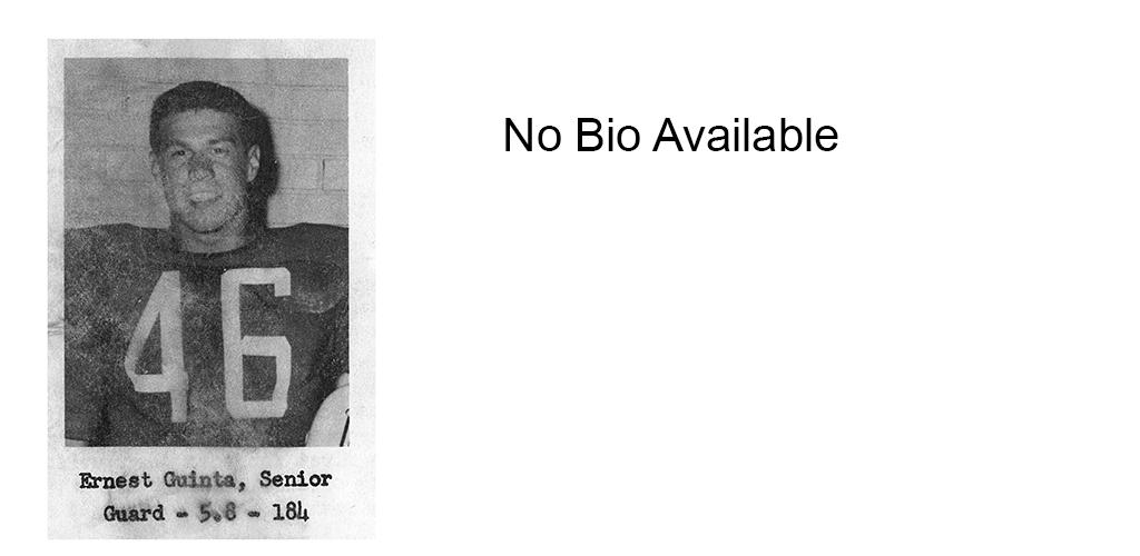 1959 Senior Ernest Giunta Senior Bio