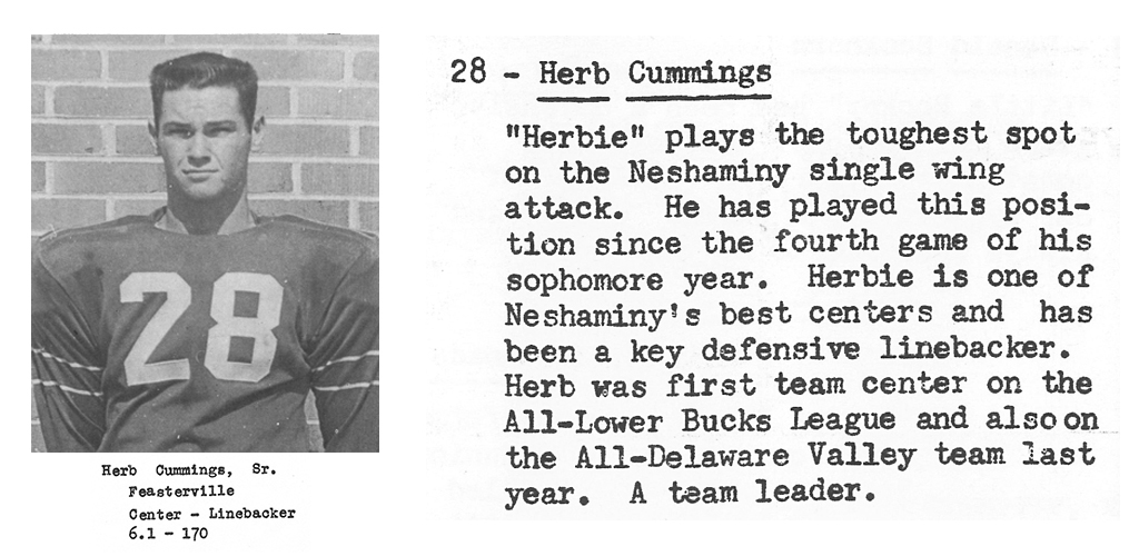 1959 Senior Herb Cummings Senior Bio