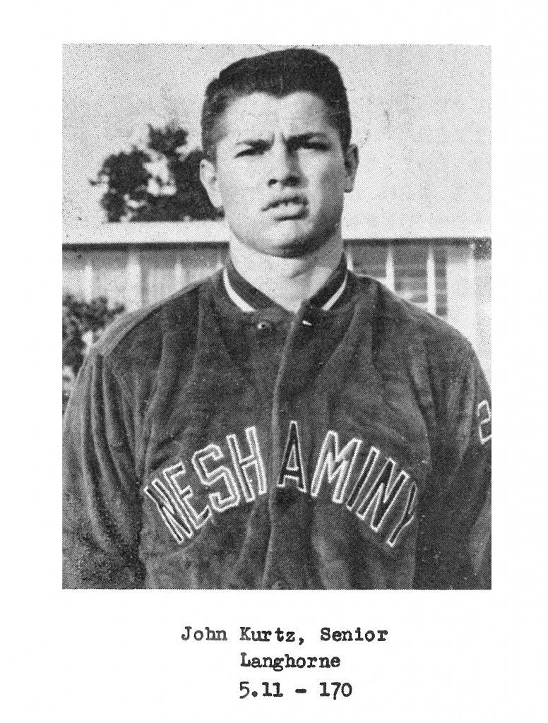 1959 Senior John Kurtz