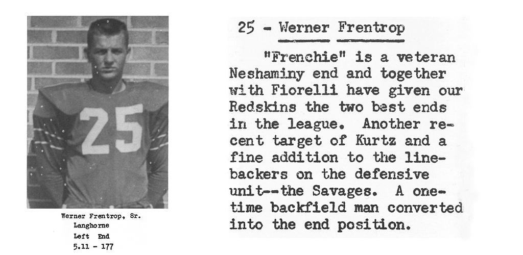 1959 Senior Werner Fentrop Senior Bio