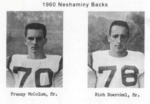 1960 Backs
