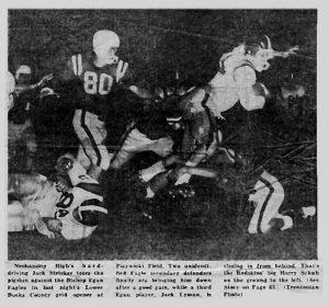 1960 Egan game Jack Stricker