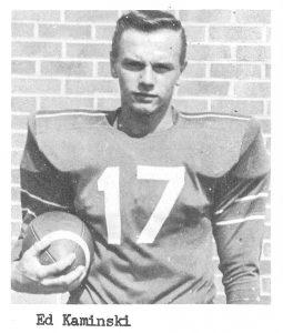 1960 Junior Ed Kaminski