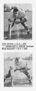 1960 Junior Tackles